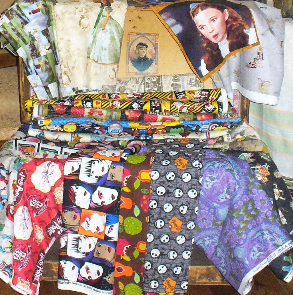 Nightmare before Christmas Fabric Jack Skellington Jack and | Etsy