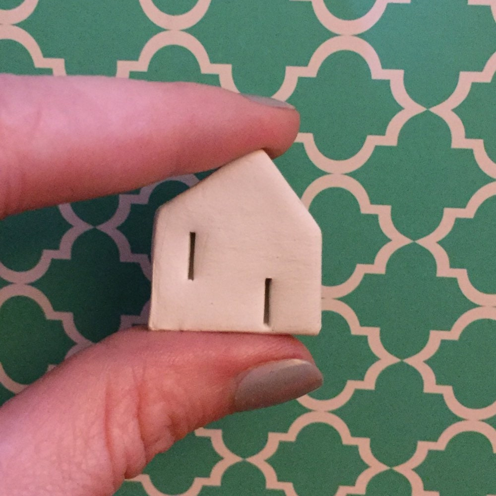Handmade little clay houses from the south of by DinkyHouses