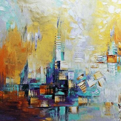 Giclee Print Beyond This Horizon Ready To Hang Of Original Etsy