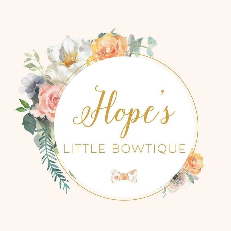fascinating Little Bowtique Part - 8: Handmade hair accessories by HopesLittleBowtique on Etsy