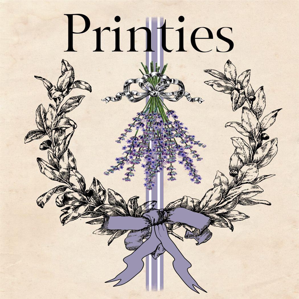 Dollhouse Miniature A Printable Paper In Quarter Etsy Botanical Tree Ring Diagram Vintageprintable