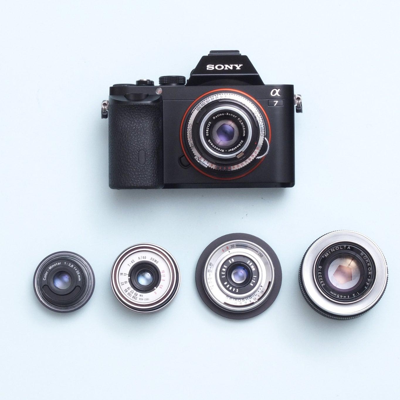 Yashinon 45/1.8 Objektiv auf Sony NEX E-Mount Full-Frame | Etsy