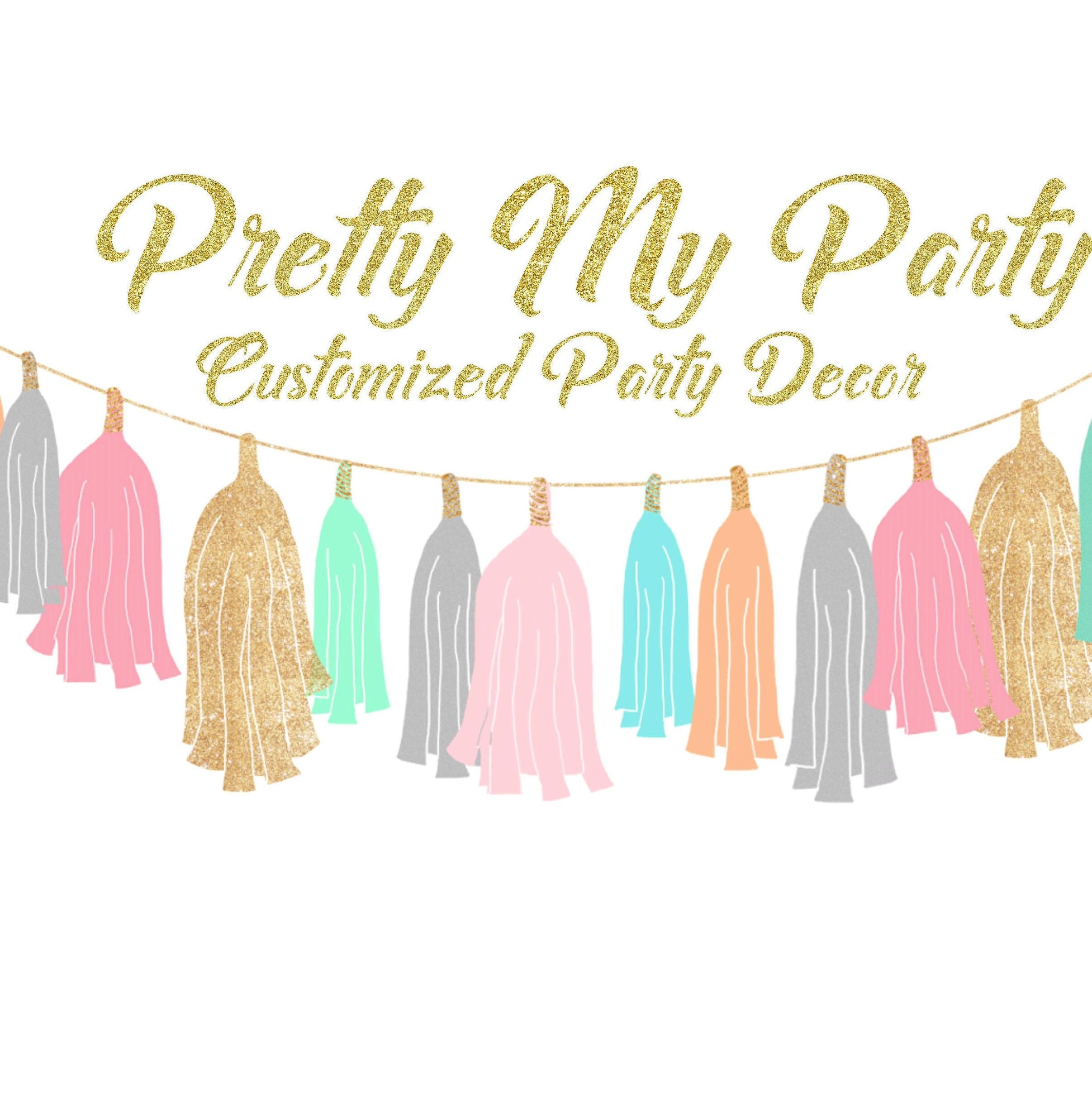 Custom Made Party Decor By Prettymypartydecor On Etsy