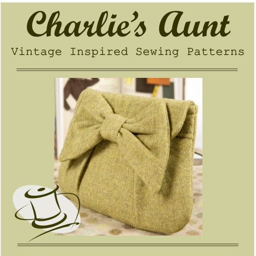 charliesaunt Bag Sewing ePatterns, Digital PDF Patterns and Kits