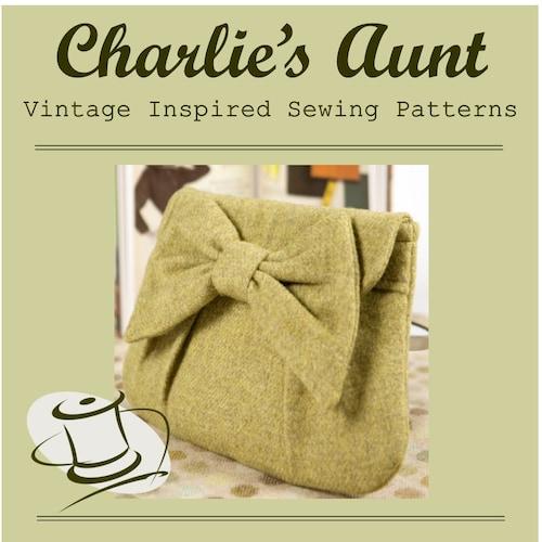 charliesaunt Bag Sewing ePatterns, Digital PDF Patterns and Kits