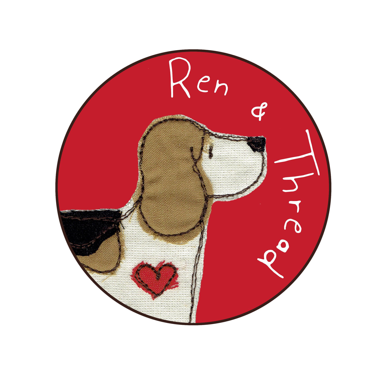 Gifts for pet lovers by Ren Ellery Textile Artist von RenandThread