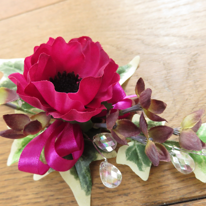 Flower Corsage Dusky Pink Roses Wedding Prom Or Etsy