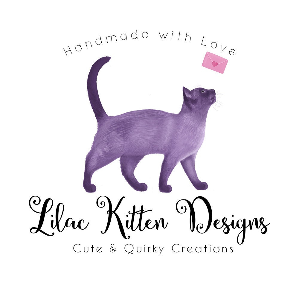Cute & Quirky Handmade Personalised by LilacKittenDesigns on