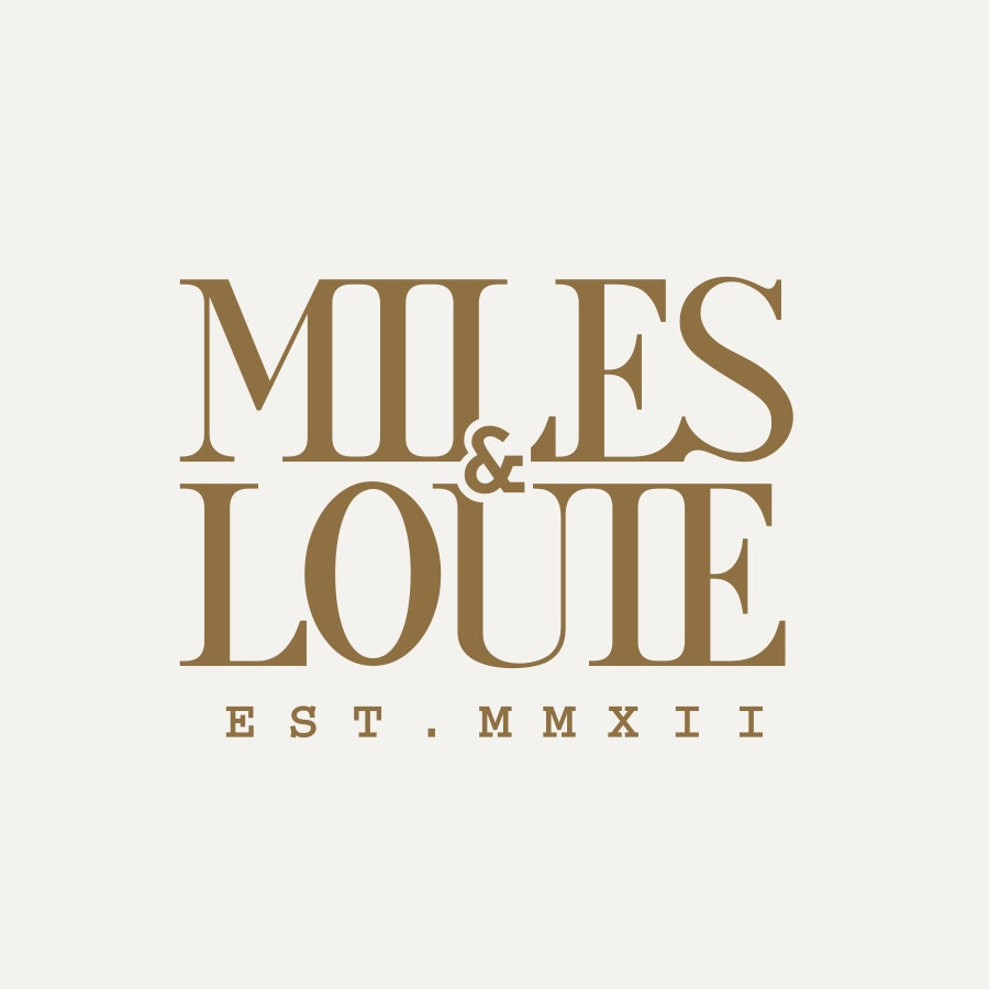 Miles & Louie by MilesandLouie on Etsy