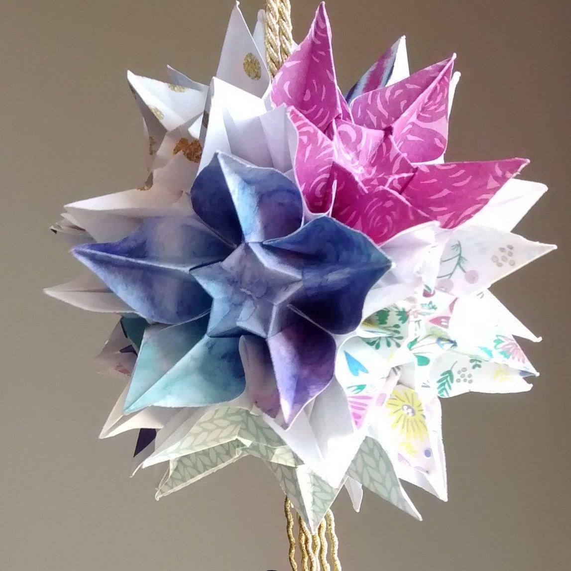 Kusudamaorigami Flower Ball Etsy