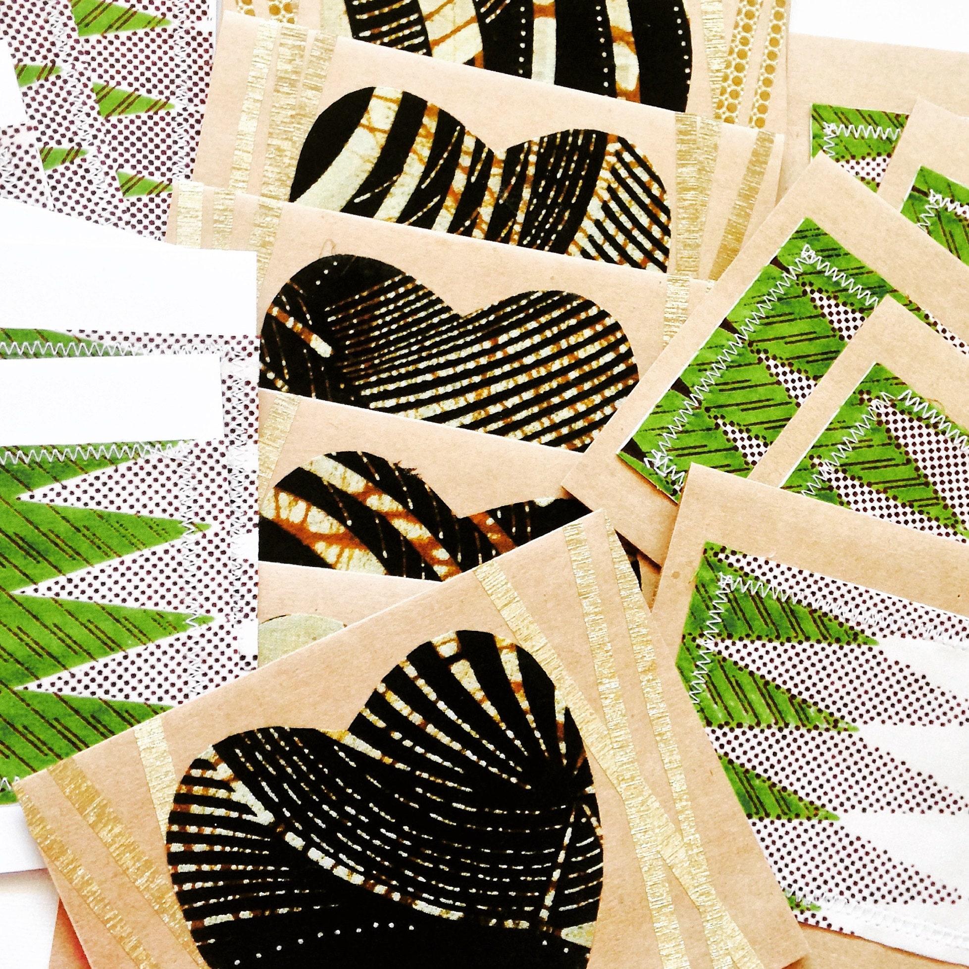 Soukous Blank Greeting Cards African Greeting Cards Batik Etsy