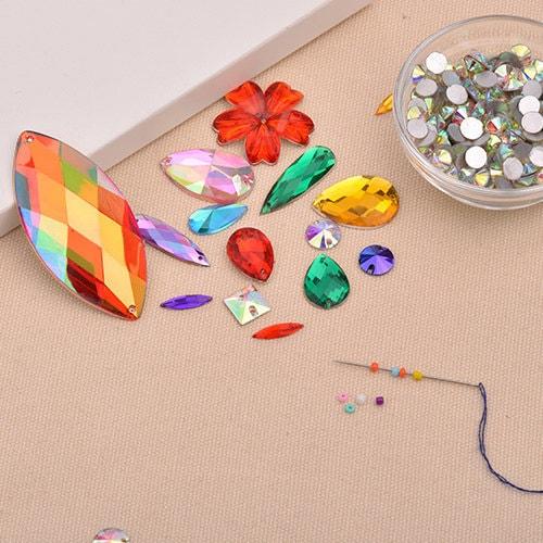 Mylar Paper Tape Acrylic Film Hotfix Iron On Rhinestone Diamante Gem Craft Motif