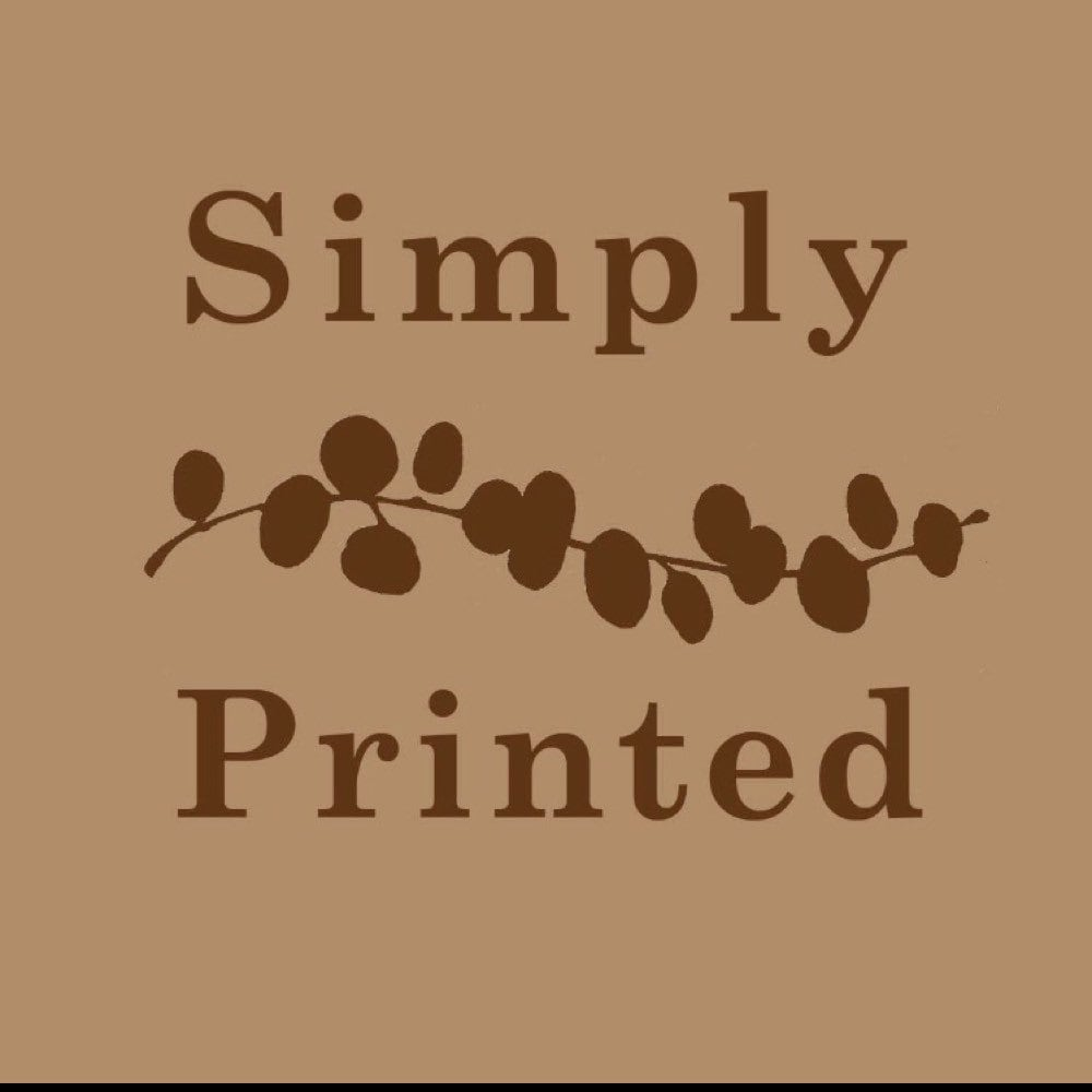 Simply Printed by simplyprinted on Etsy
