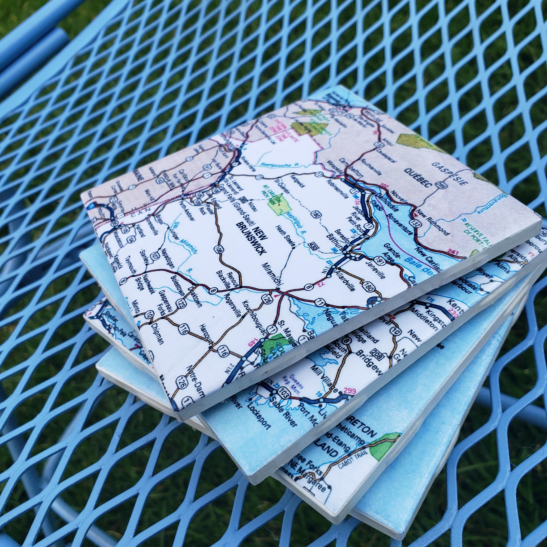 Custom City Coasters Milwaukee Coasters Milwaukee Photos Custom Photo Coasters City Wall Hangings Personalized Photo Coasters Tile Coasters