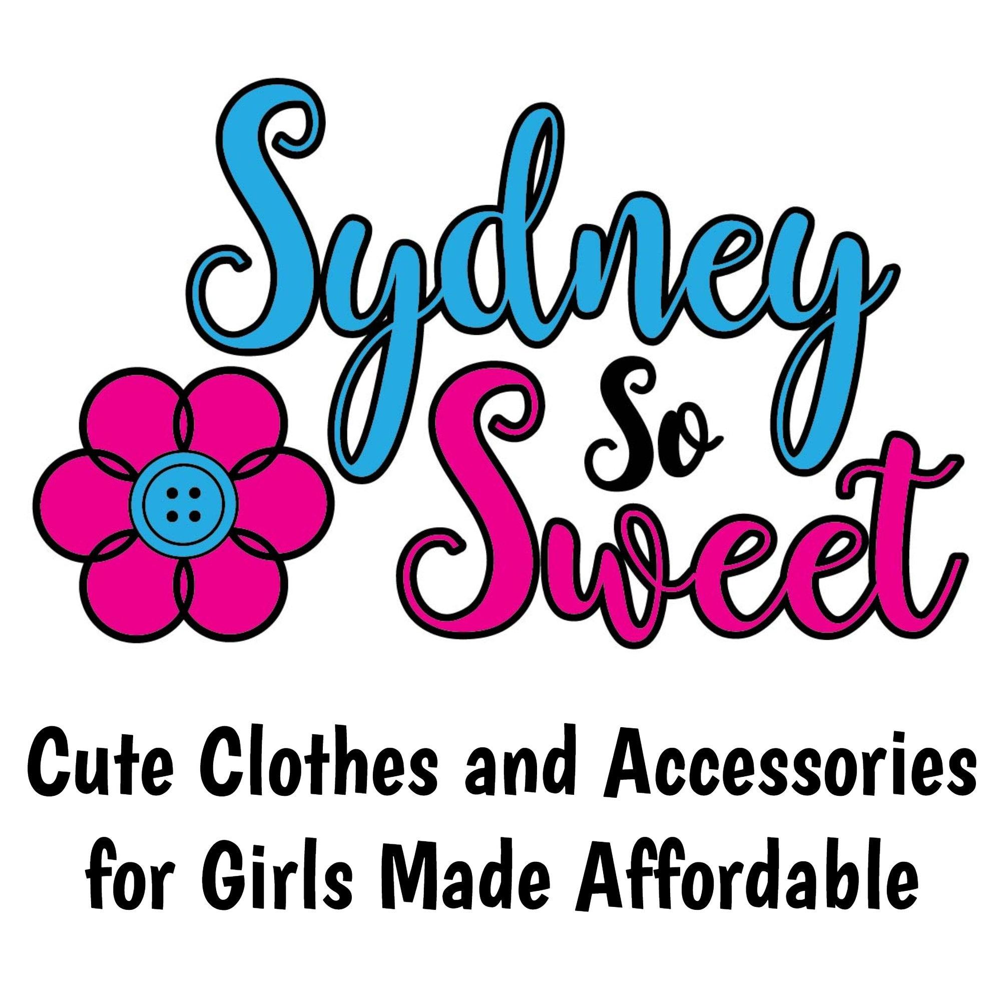 8db827954d6 Sydney So Sweet by SydneySoSweet on Etsy