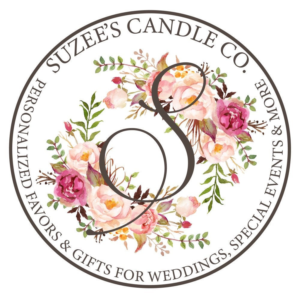 Candle Favors & Gifts For Weddings & Special by SuzeesCandleCo