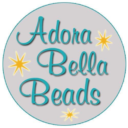 Pewter Beads Swarovski Crystals Gemstone by AdoraBellaBeads