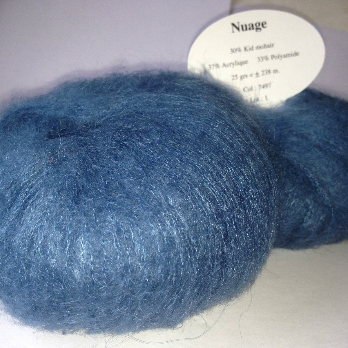 hyper douces 100 gr 5 Pelotes de laine mohair couleur vert emeraude
