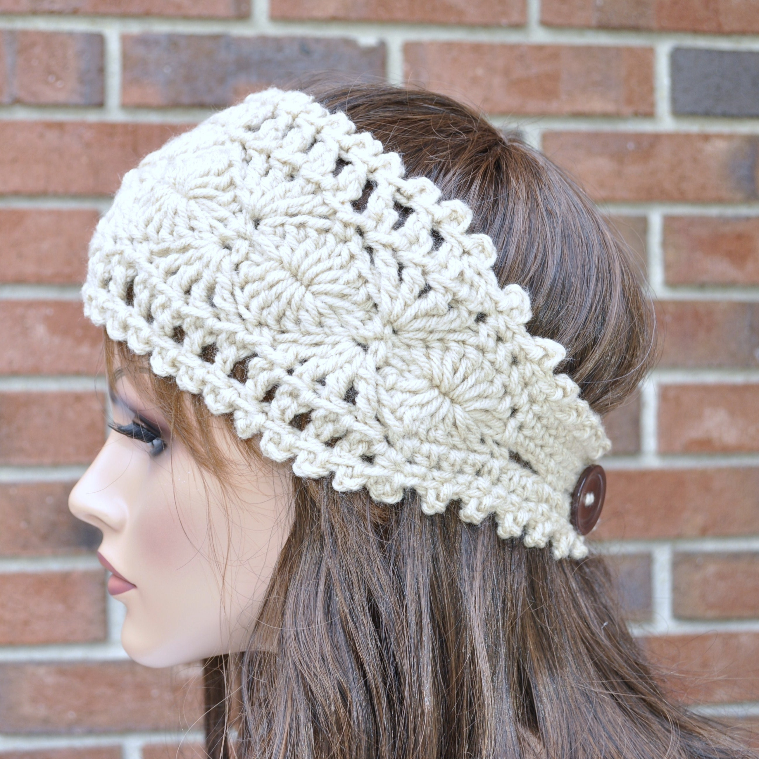 Free Crochet Ear Warmer Pattern With Button Closure Best Design Inspiration