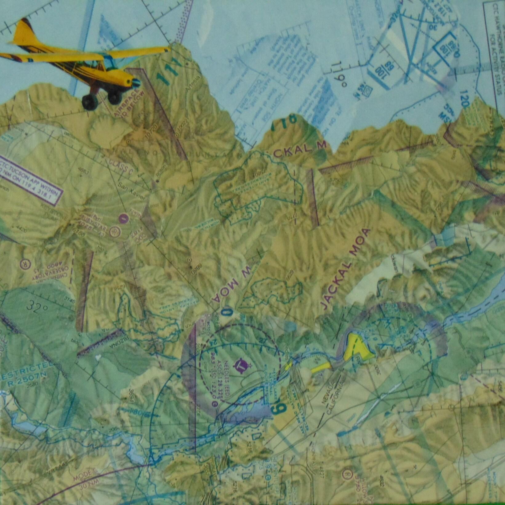 Sky Ranch at Carefree AZ. Aviation Sectional Pendant 30 | Etsy