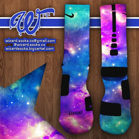Custom Nike Elite Socks By Wizardsocksllc On Etsy