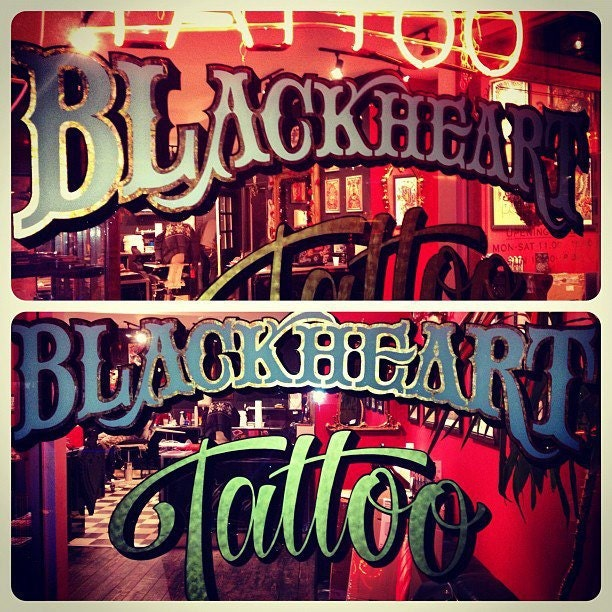 f2e9f772b41bc Black Heart Tattoo Studio UK by BlackHeartTattooUK on Etsy