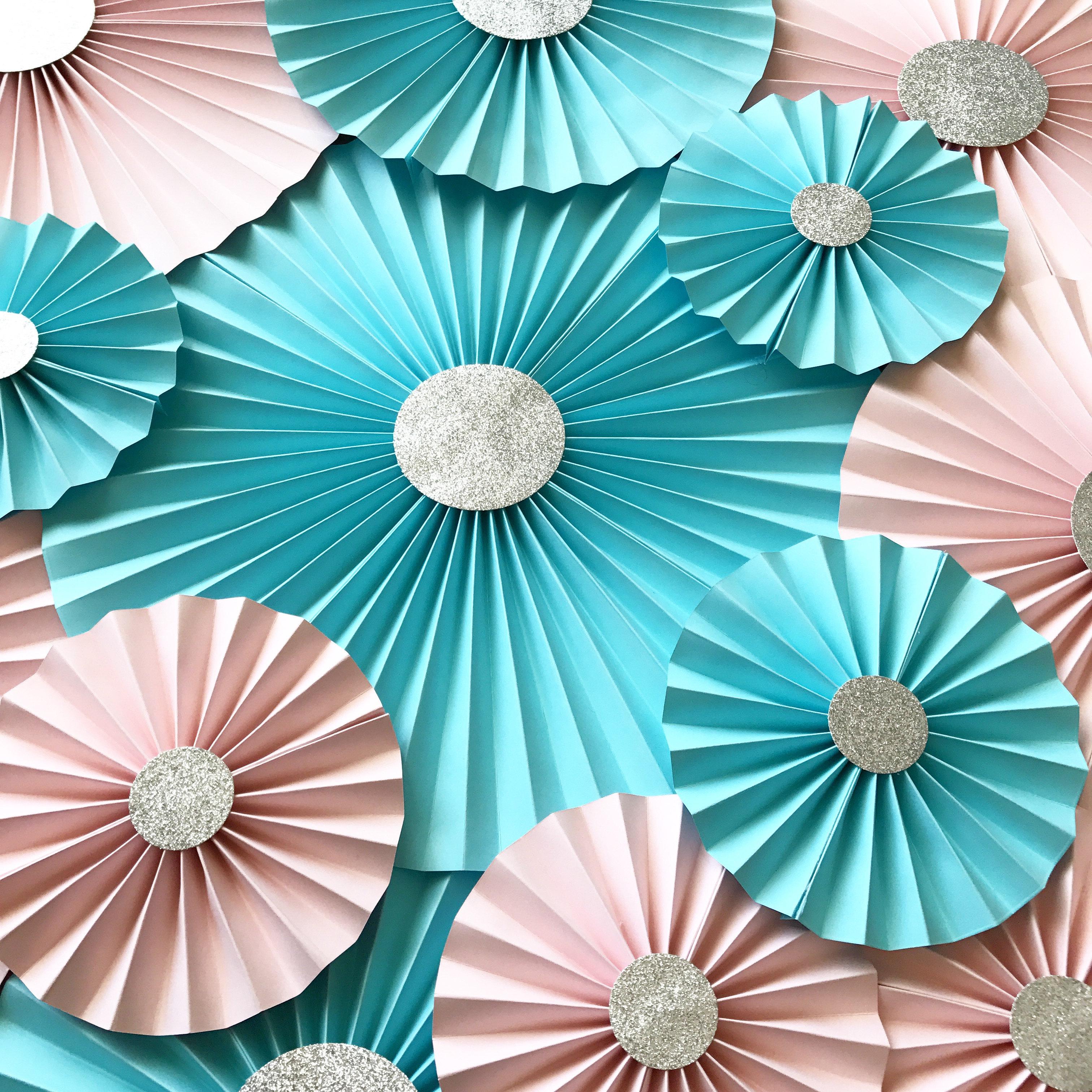 Hydrangea Paper Flower Template Paper Flower Template Etsy