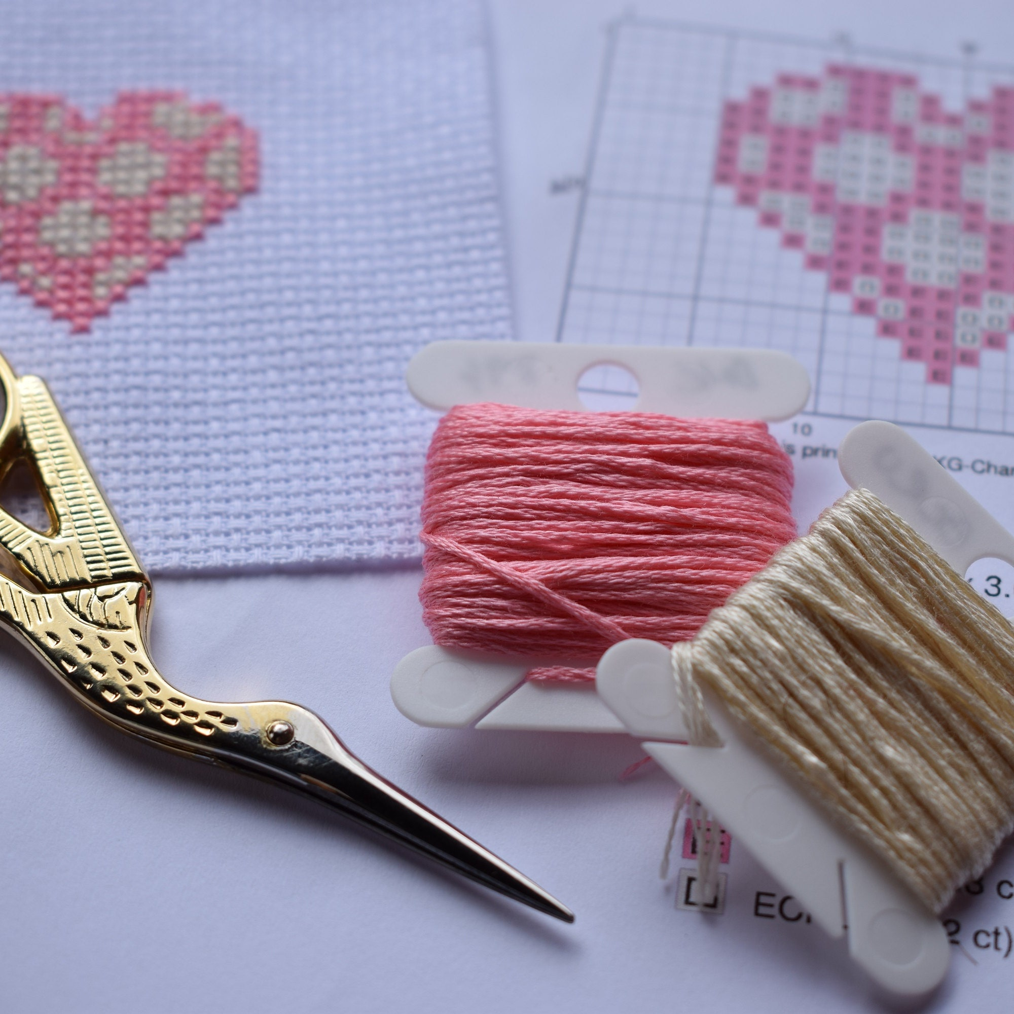 Modern cross stitch patterns and crafts by CraftwithCartwright