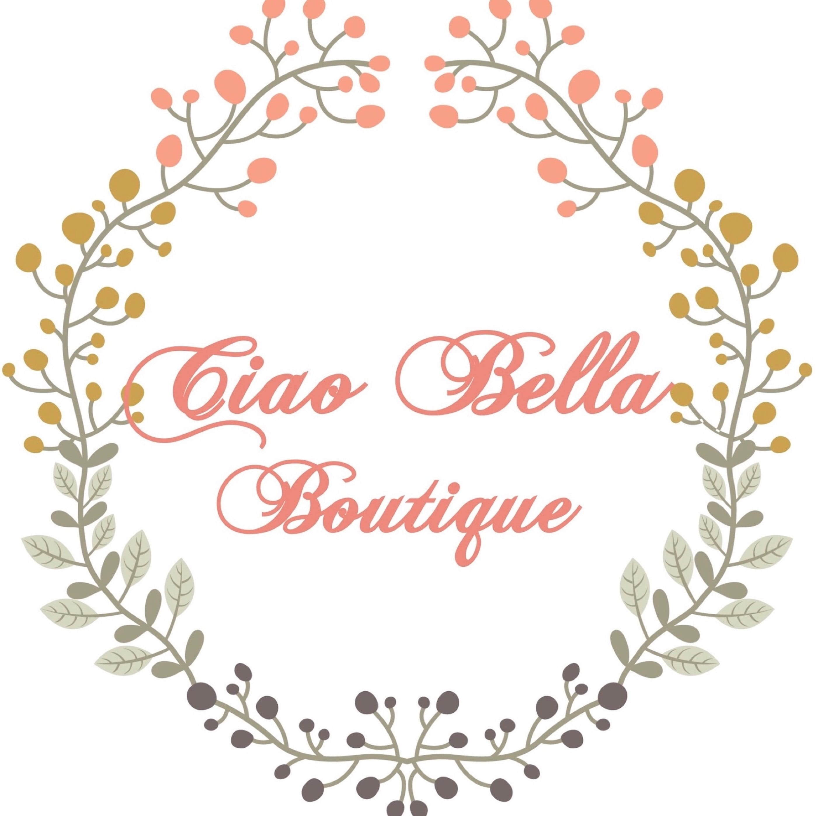aff2a72626a Ciao Bella Boutique by CiaoBellaMonogram on Etsy