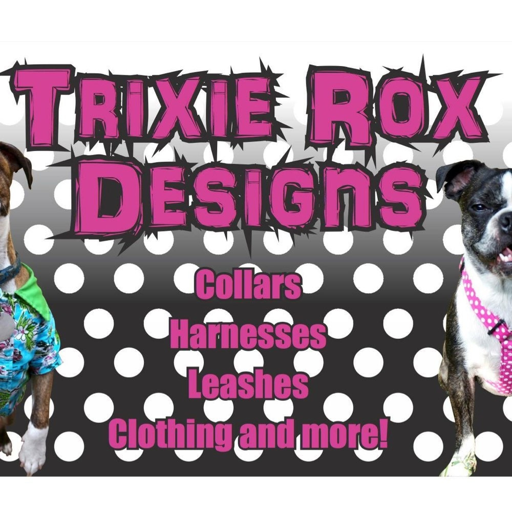 Trixie Rox Designs Pet boutique by TrixieRoxDesigns on Etsy