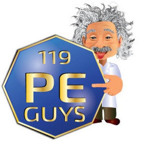 Caesium Metal 15 mg ampoule 99.9/% Pure in a Mini PEGUYS Periodic Element Tile