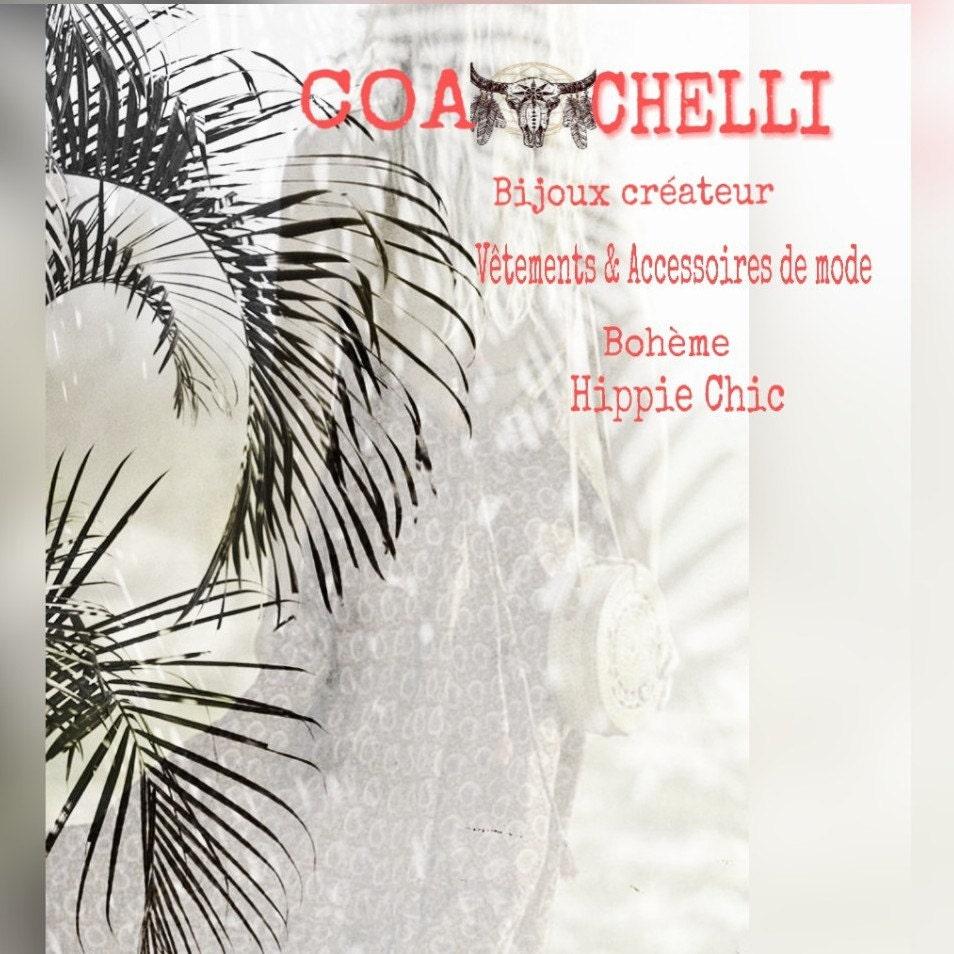 Bijoux créateur vêtements & accessoires de mode par Coachelli
