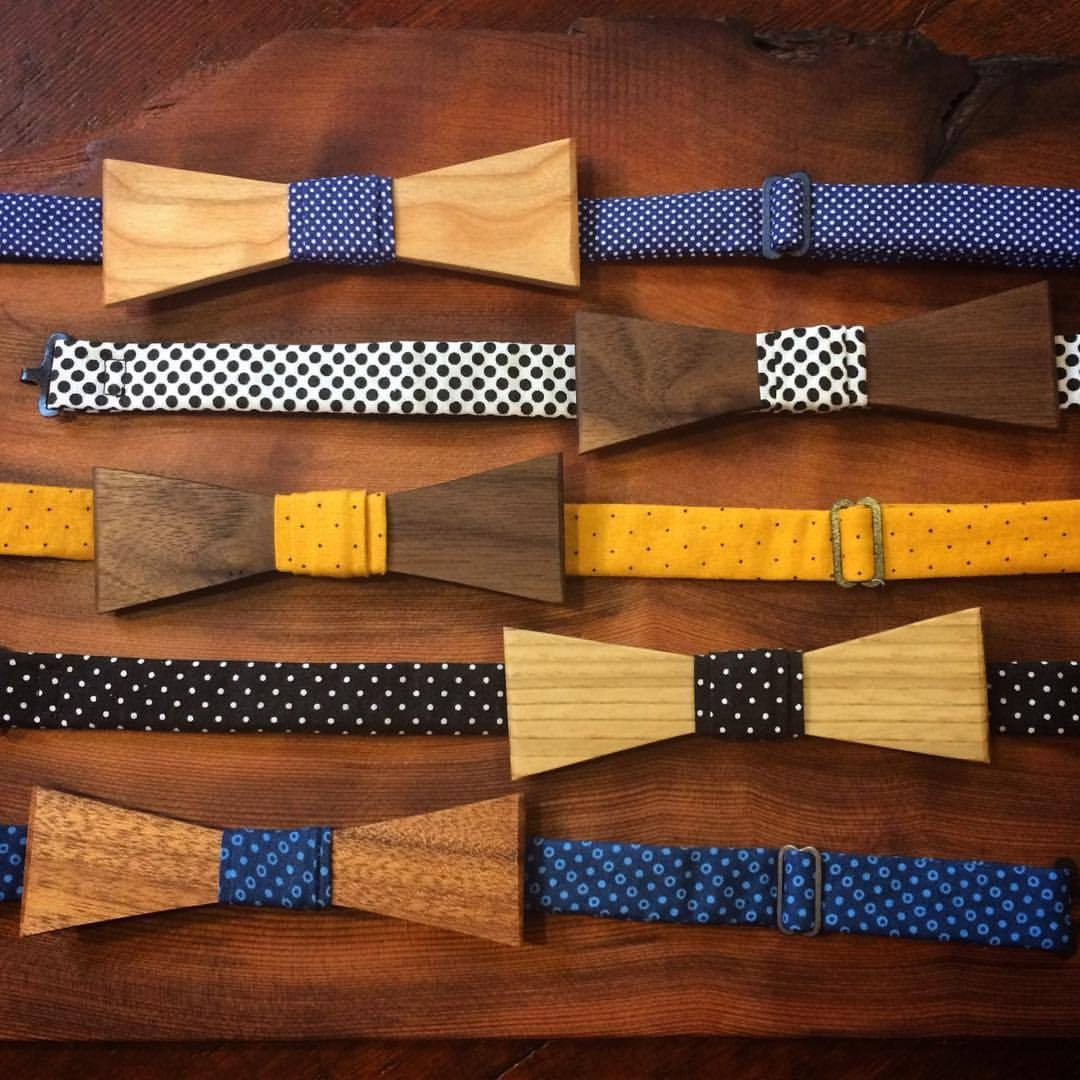 Sycamore Wood Bow Tie Ladies Wooden Bow Tie Boys for Men