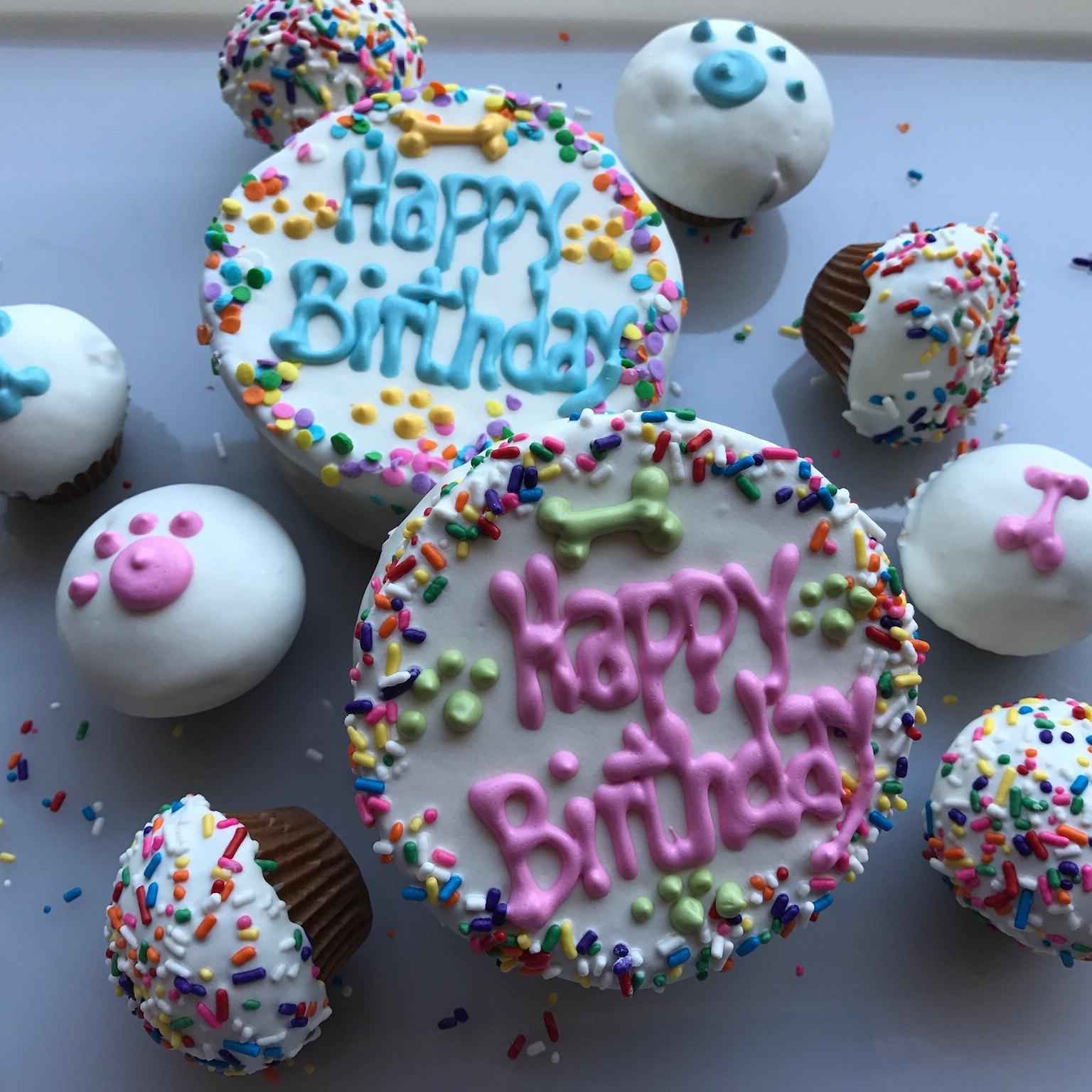 Dog Birthday Cakehomemade Gourmet Birthday Cake For Dogs Etsy