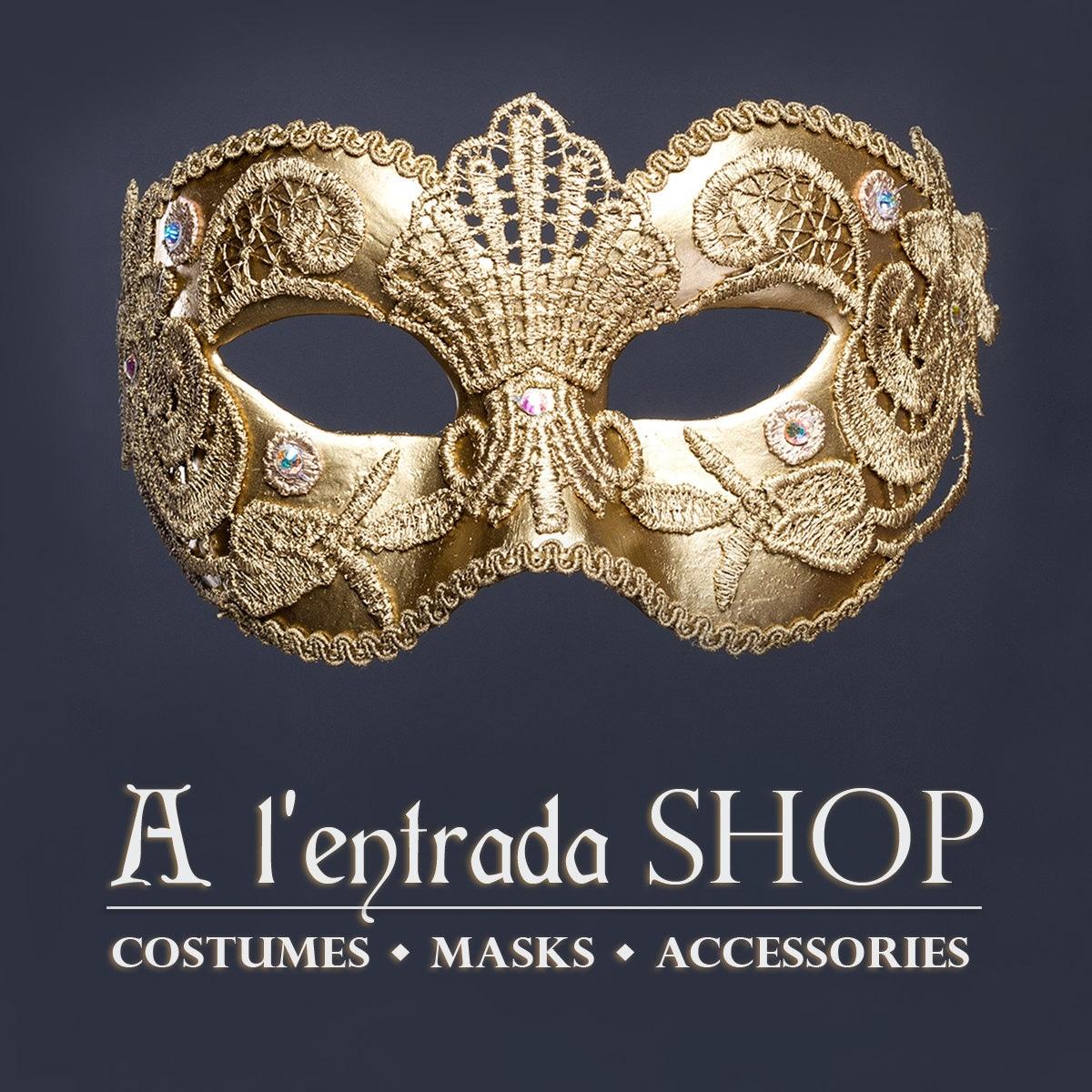 b5a3a2bb128f Costumes Masks Headdresses Accessories di AlentradaSHOP
