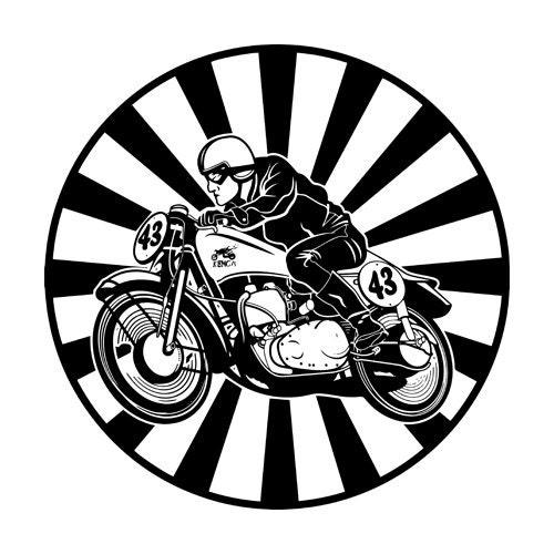 Vintage Motorcycle Aviation And Automotive Art By Killerbeemoto