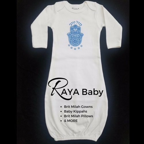 64cf28b2fbe9 Brit Milah Outfits Bris Gowns Hostess Gifts   More by RAYABaby