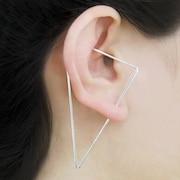 79d306832 925 Silver Earrings Threader Earrings Ear Cuff Hoops by OtisJaxon