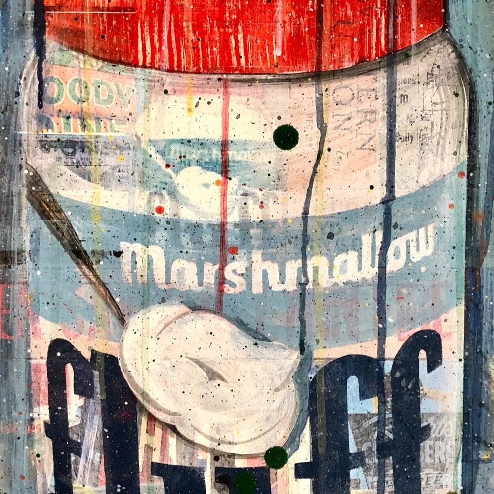 Mixed Media Prints Collage Art Cape Cod Entering Marshfield Marshfield Fair Print Marshfield MA Beach Beach House Art Art