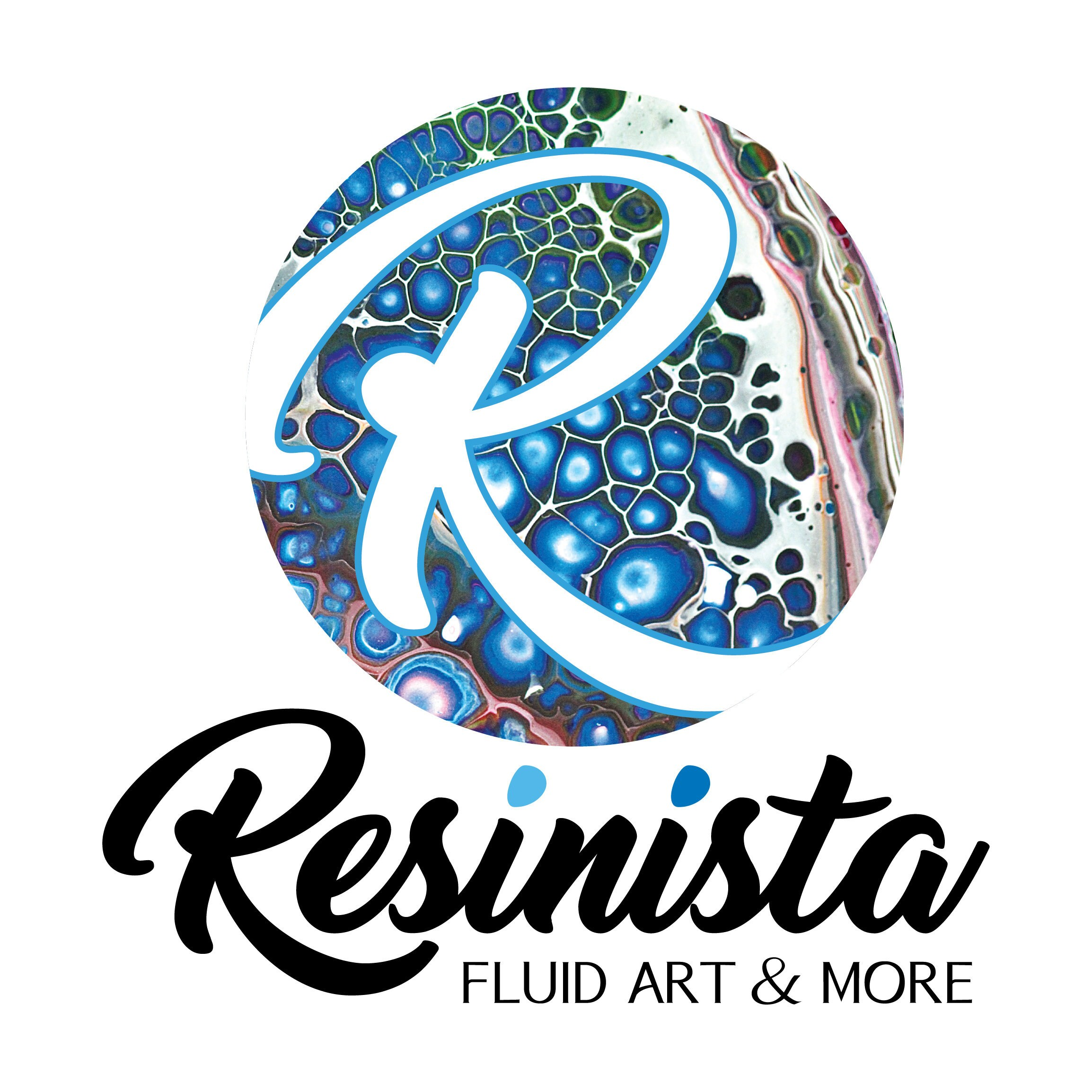 Geodes Galaxy and Resin Fluid art by Resinista on Etsy