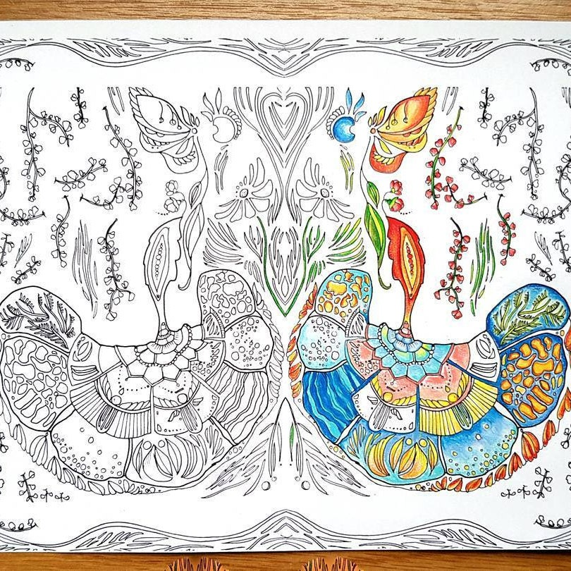 Adults Coloring Pages Nature 17 Printable Pages Etsy