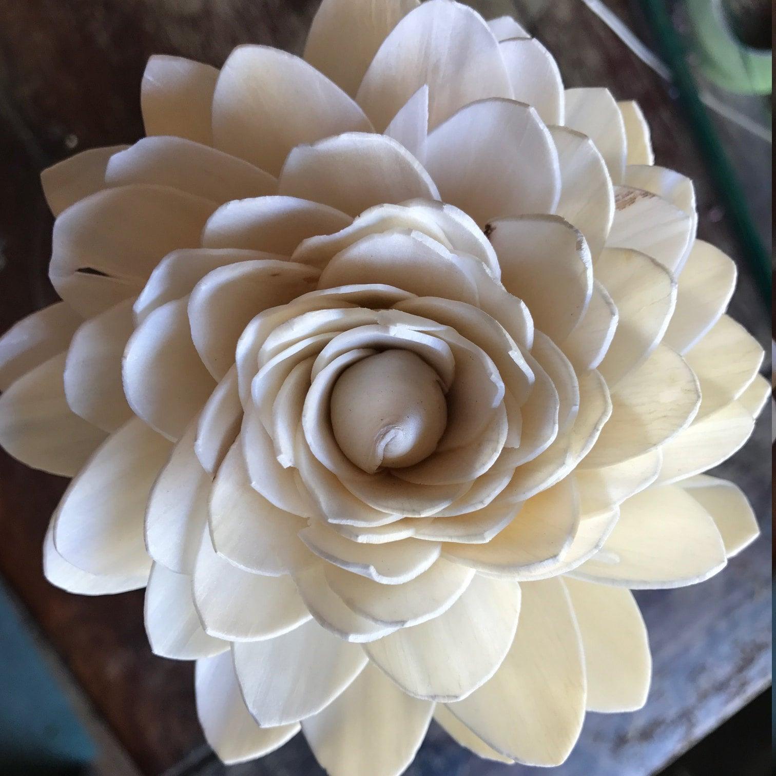 Sola flower bouquet white and green wedding bouquet bridal etsy woodlandflowerco izmirmasajfo