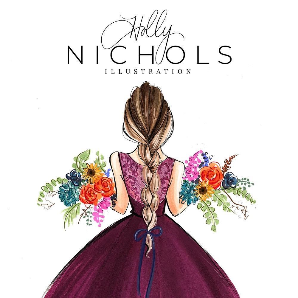 H. Nichols Illustration By HNIllustration On Etsy