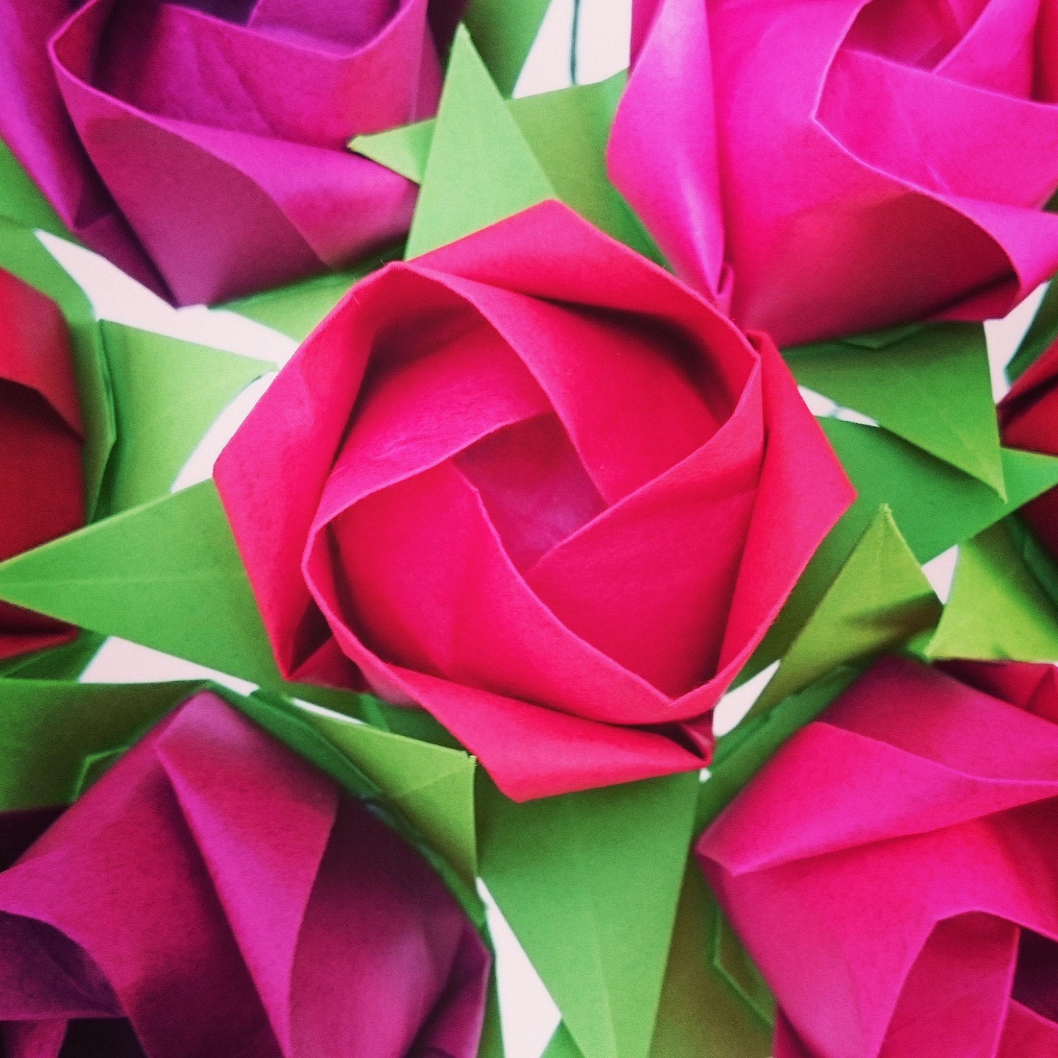 Boho Gift Flowers Origami Paper Flowers Bouquet Alternative Etsy