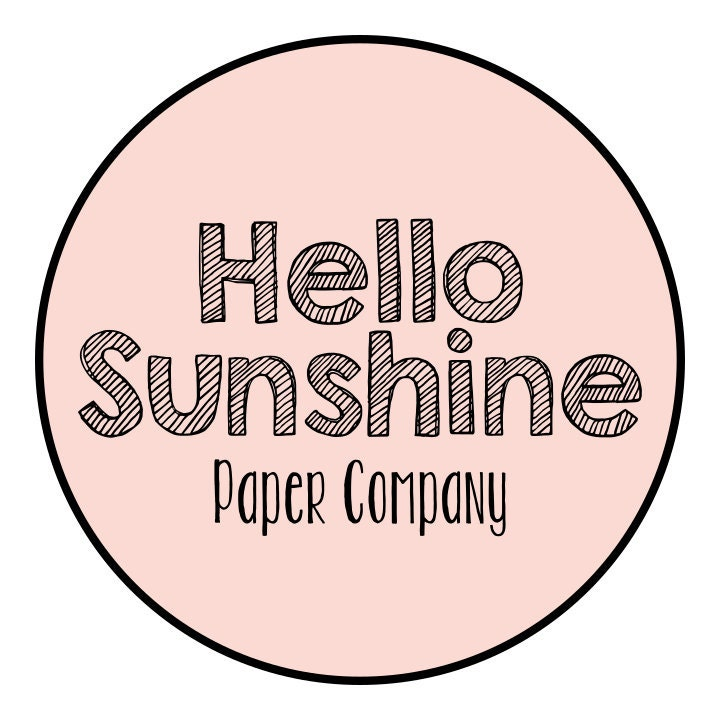 A Collection Of Quality Handmade Paper Cut By Hellosunshinepaperco