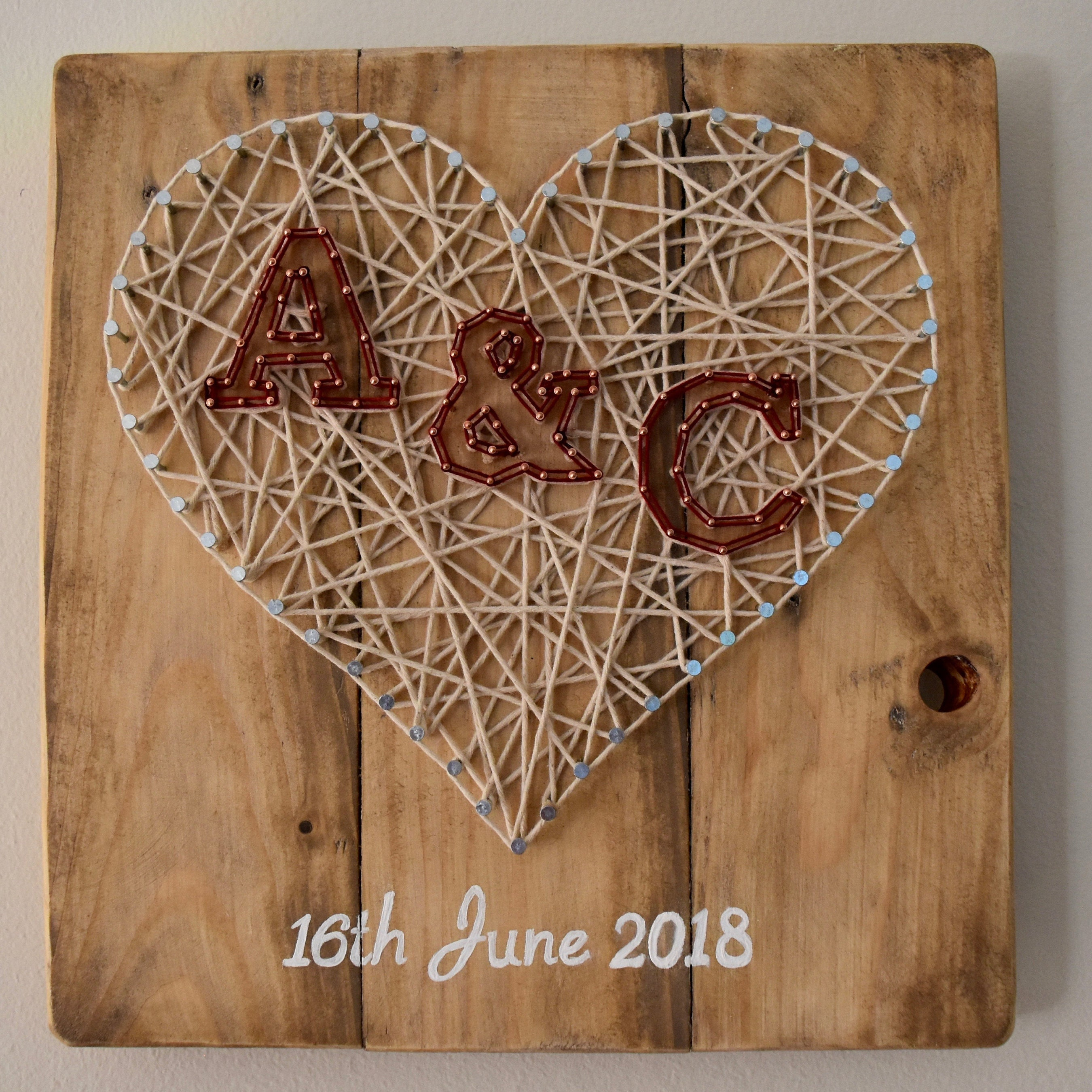 TetheredTales Customised Animal String Art Etsy