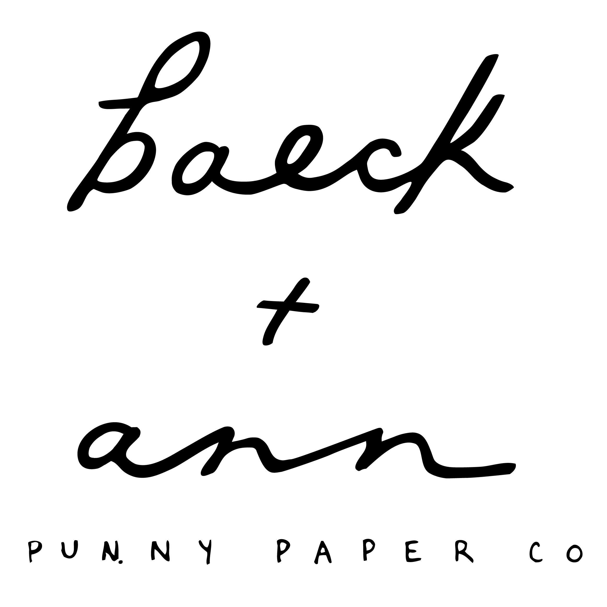 Punny & Funny Greeting Cards von BAECKANN auf Etsy