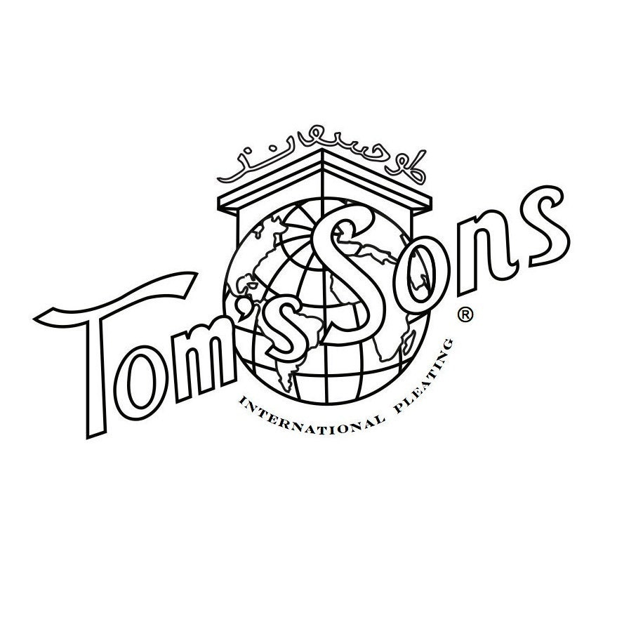 Tom's Sons International Pleating by IntlPleating on Etsy