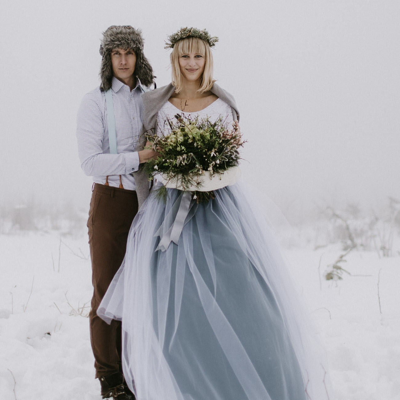Wedding accessories bridesmaids tulle von BeautyWeddingDesign