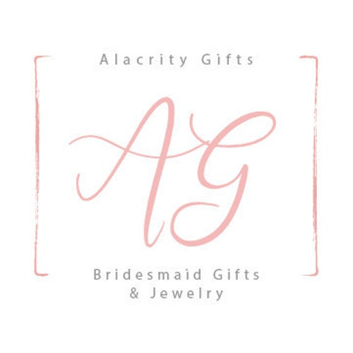 Bridesmaid Proposal Gifts & Jewelry by AlacrityGifts on Etsy